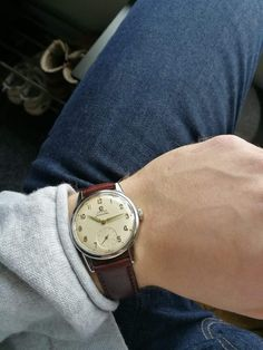 Vintage Omega seamaster sub second arabic numerals cal 268 from 1960