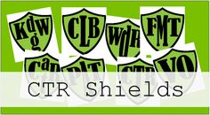 CTR shields in different languages