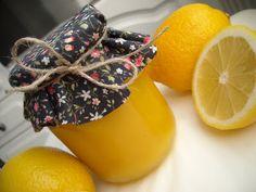 : Conservas lemon curd