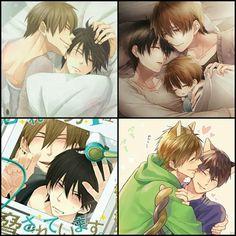 這對cp...(噴血中(っ´Ι`)っ Anime Love, Anime Guys, Canon Anime, Fotos Do Pokemon, Mpreg Anime, Anime Pictures, Makoharu, Familia Anime, Anime Angel
