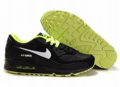 https://www.kengriffeyshoes.com/nike-air-max-90-black-apple-green-white-p-809.html Only$72.79 #NIKE AIR MAX 90 BLACK APPLE GREEN WHITE #Free #Shipping!