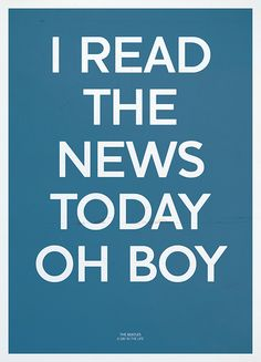 I READ THE NEWS TODAY OH BOY - A Day in the Life - The Beatles