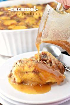 Caramel Bread Pudding