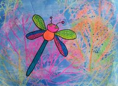 Dream Painters: Dragonflies & Other Insects: Emily W (Y5)