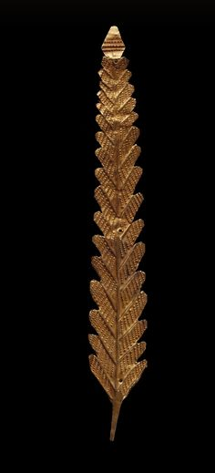 Fern Ornament for a Headdress 1850 - 1900 / The Museum of Fine Arts, Houston