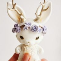 Micro Munny Spring Jackalope - for sale!