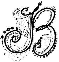 zentangle letters - Google Search