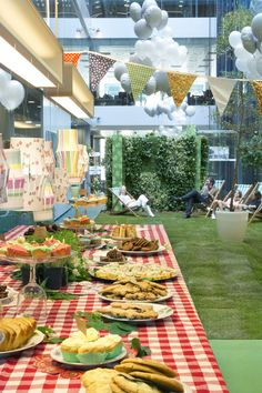 Fun indoor picnic park at HOK London. LEED Gold Firm With a Picnic Green | Inc.com