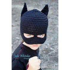 Ravelry: Batman Mask Beanie pattern by Rebecca Romero