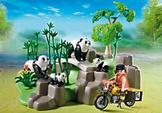 Creative Preschool Time : Endangered Species Day and Playmobil Toys Panda Family, Playmobil Toys, Preschool Toys, Preschool Activities, New Year Gifts, Heart For Kids, Toys Shop, Endangered Species, Cool Cartoons