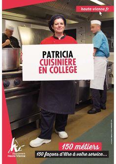 Patricia, cuisinière au collège Léon Blum à Limoges.