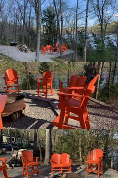 Neil Farris in Ketucky has a great view of the fire from his Tall Chairs Adirondack Chair Plans, Adirondack Furniture, Great View, Furniture Plans, All Over The World, Color Schemes, Chairs, Fire, How To Plan