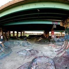 FDR Skatepark located in Philadelphia, Pennsylvania