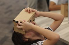 In a workshop in Singapore, these kids created their own VR stories.