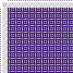 Weaving Draft Figurierte Muster Pl. XXIX Nr. 1 (b), Die färbige Gewebemusterung, Franz Donat, Germany, 1907, #63714
