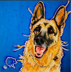 pet portraits  commissioned portraits by Hannah Stone prices start at three hundred dollars