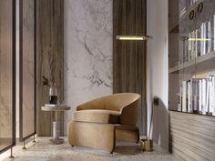SHADES OF BEIGE on Behance Shades Of Beige, 3ds Max, Floor Design, Modern Luxury, Ground Floor, Dining Chairs, Behance, Graphic Design, Flooring