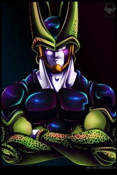 Cell - The Perfect Android by darkly-shaded-shadow.deviantart.com on @DeviantArt