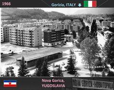 Confini amministrativi - Riigipiirid - Political borders - 国境 - 边界: 1966 / 1969 IT-YU Itaalia-Jugoslaavia Italia-Iugos. Siena, Times Square, Nova, Politics, Italy, Travel, Italia, Viajes, Destinations