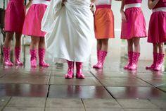 rain boot wedding
