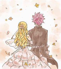 Imagen de nalu, fairy tail, and natsu dragneel Fairy Tail Lucy, Natsu Fairy Tail, Fairy Tail Amour, Art Fairy Tail, Anime Fairy Tail, Fairy Tail Comics, Image Fairy Tail, Fairy Tail Guild, Fairy Tail Ships