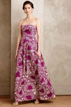 Anthemon Gown #Anthropologie