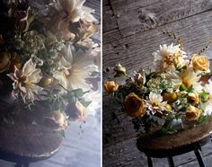 fall flowers. i think there's a tomato in there. ha! Saipua — Soap and Flowers