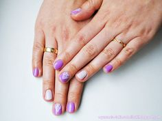 Confessions of a Polishaholic: Semilac 035 Bright Lavender, Cosmetics Zone PST2