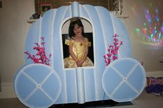 Cinderella carriage photo booth