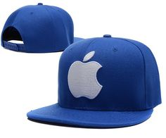 Apple Snapback Hats Blue|only US$6.00 - follow me to pick up couopons.