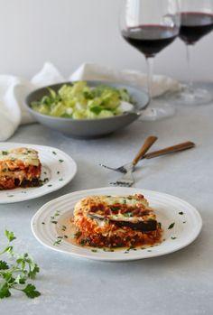 Cozy Eggplant Lasagna (GF, Vegetarian)