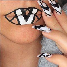 7 bouches artistiques par la maquilleuse Batalash Beauty #monvanityideal #maquillage #rougealevres