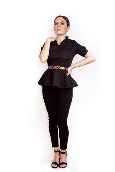 Restaurant Interior Design, Cotton Blouses, Princess Cut, Peplum Dress, Textiles, Tabasco, Collection, Dresses, Fashion