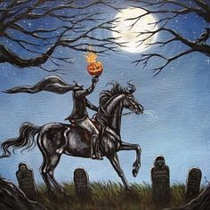 Happy Halloween Eve, everyone! I hope you've all been ghoulish this year, else wise The Headless Horseman may Spirit you away to the netherworld!