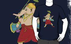 Lord Ganesh tee  http://www.redbubble.com/people/nishagandhi/works/4003280-lord-ganesh
