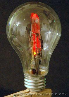 Steampunk Crystal Light Emitter