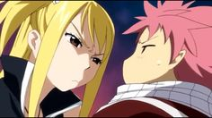 I was rewatching this episode, and I paused it to do something else real quick, and then when I glanced at it, I saw where I had stopped. Edolas Lucy had just met the EarthLand Natsu, so she was staring at him while leaning in really close... and then I started to scream because you can see that Natsu is actually BLUSHING because she is so close to him and Natsu rarely blushes xD