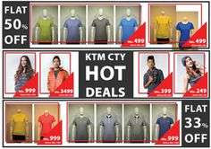 Grab the new #Summer #Collection from your nearest #KTMCTY stores!  #MadeInNepal  Stores: Durbar Marg 4221021 Mandala 4701676 Jyatha 4257632 Thamel 4269607 Jawlakhel 5546017 Boudha 4912974 Naxal 4416507 NewRoad 4266460 Kapan 4823416 Chakrapath 4720380
