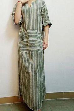 567821f50749 Casual Vintage Maxi. Striped Maxi DressesPlus Size Maxi DressesSexy  DressesWomen's Fashion DressesVintage DressesLong DressesLong Sleeve ...