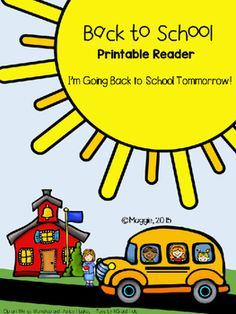 This cute reader is meant for use the first day of school to reinforce positivity in the new year! Help students get EXCITED about their return tomorrow! Send home the first day. :)http://maggieskinderIG: maggieskinderTwitter: @maggieskinder