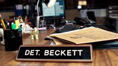 Inside Look: Kate Beckett's Precinct Desk - Castle TV Photos - ABC.com