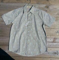 Men's Oleg Cassini shirt size S New with Tags #OlegCassini #ButtonFront