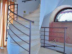 #ringhiera in #ferro per #scale interne.