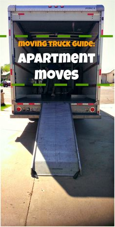 Need a #movingtruck for your #apartment move? Check out your options here: