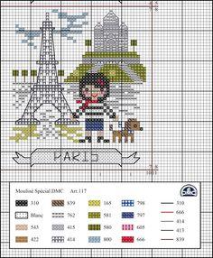 """Este mês de julho vamos a Paris, capital de França, o país natal da DMC. É também conhecida como """"Cidade Luz"""" (la Ville L umière). O seu mo..."""