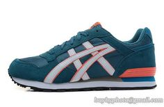 Womens And Mens Asics Sneaker Running Shoes A   Blue Orange|only US$95.00 - follow me to pick up couopons.