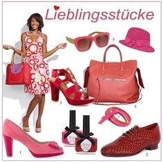 Ob High-Heels oder Flats: rote Schuhe und Accessoires sind der absolute Hingucker