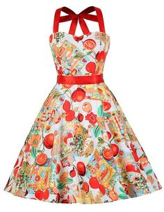 Grace Karin Women Summer Floral Print Retro 50s Vintage Swing Robe Pin Up Casual Rockabilly Dress Plus Size Summer Dresses 4595 Alternative Measures