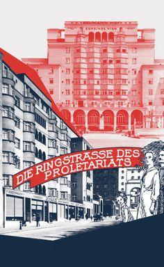 Die Ringstraße des Proletariats   Grafik Das Rote Wien im Waschsalon