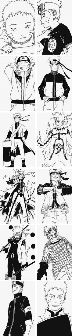Uzumaki Naruto evolution--うずまきナルトの進化
